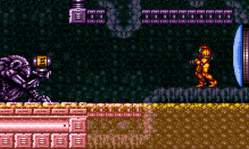 Super Metroid: Is shooting at walls a good time?