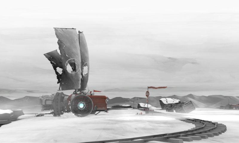 FAR: Lone Sails - Snowy Landscape